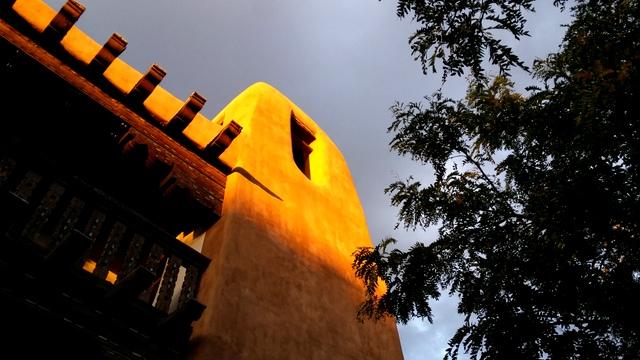 art museum face in sunlight 2