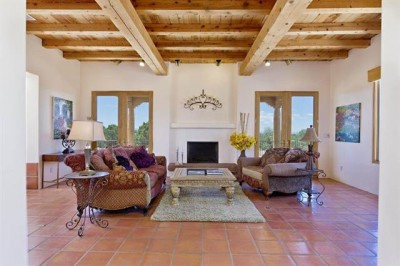 Save your energy for viewing homes like this one north of Santa Fe.