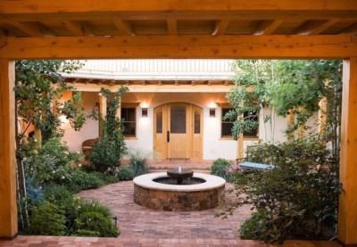 NM Courtyard